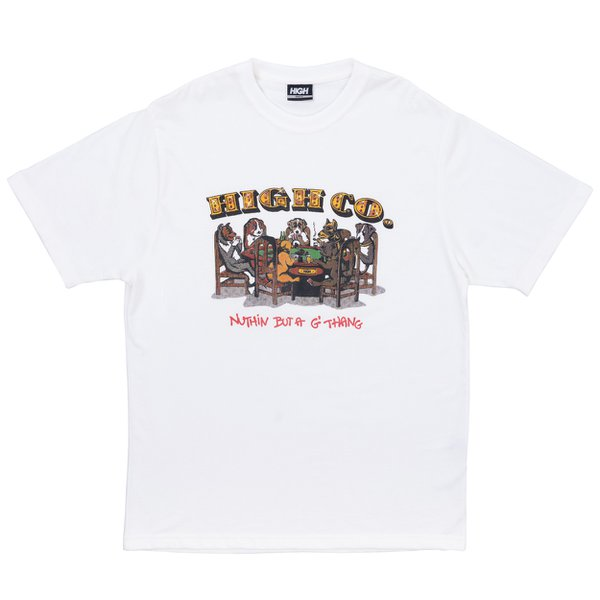 Camiseta High Work Tee Dogz White