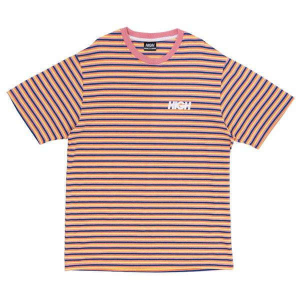 Camiseta High Tee Kidz Pink Blue