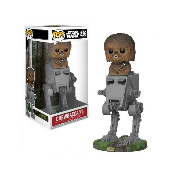 CHEWBACCA WITH AT-ST POP! VINYL #236