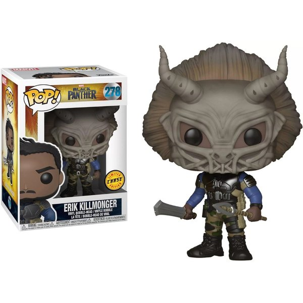 BLACK PANTHER: ERIK KILLMONGER POP! VINYL – FUNKO – CHASE EXCLUSIVE