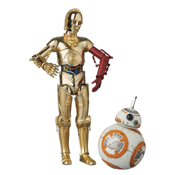 Star Wars: C-3PO & BB-8 – MAFEX