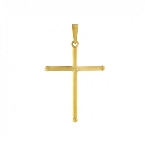 Pingente em Ouro Cruz de 20mm