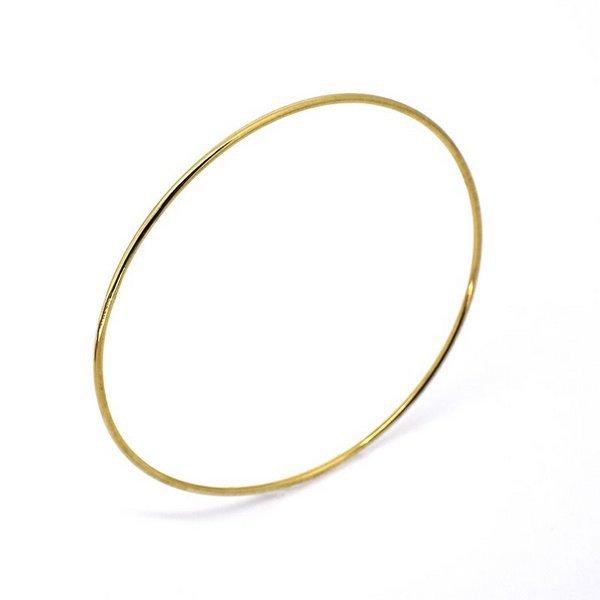 Pulseira de Ouro 18K Argola de 1,2mm com 7,0cm