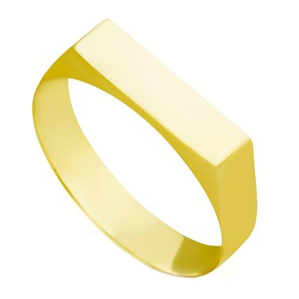 Anel de Ouro 18K Chapinha