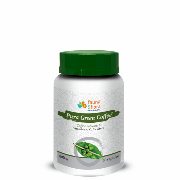 Pura Green Coffee 500mg 60 cápsulas