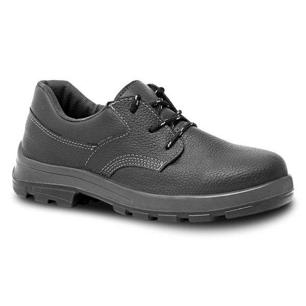 Sapato Couro Cadarço com Bico Plástico Bracol Linha Bravo