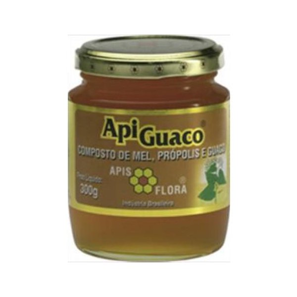 Apiguaco Mel, Própolis E Guaco 300g