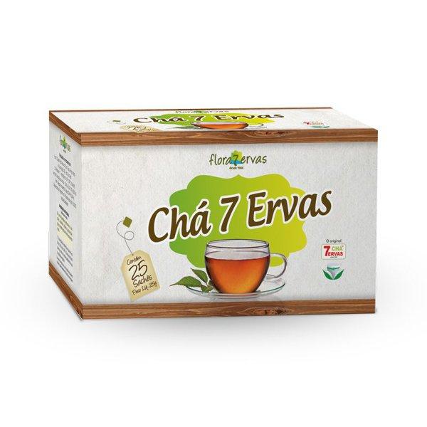 Chá 7 Ervas Composto Sachê 70g