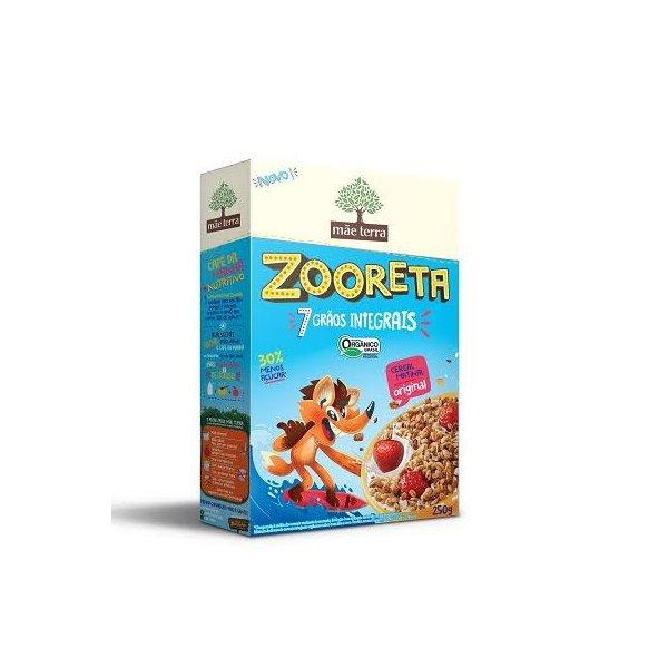 Zooreta 7 Grãos Integrais Cereal Matinal Original 250g