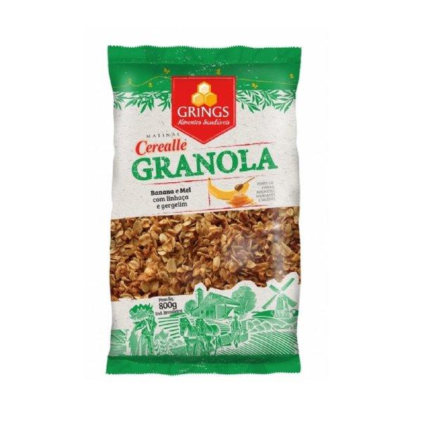 Granola Banana e Mel com Linhaça e Gergelim 800g