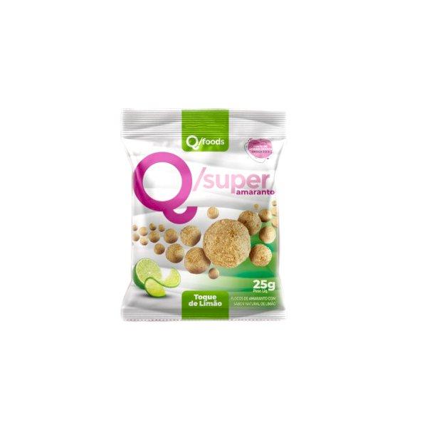 QSuper Snack Amaranto com Toque de Limão Display 6 x 25g