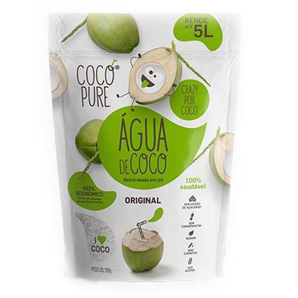 Água de Coco em pó Refil Original 200g