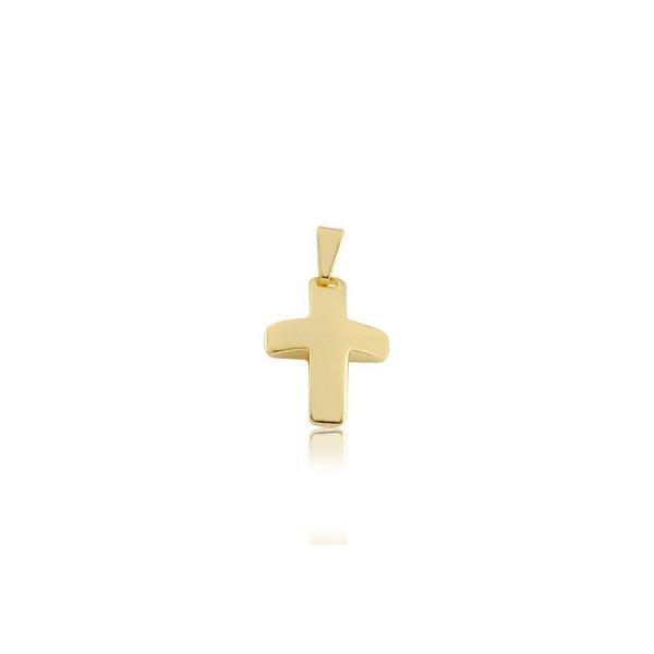 Pingente Folheado Ouro Cruz P900