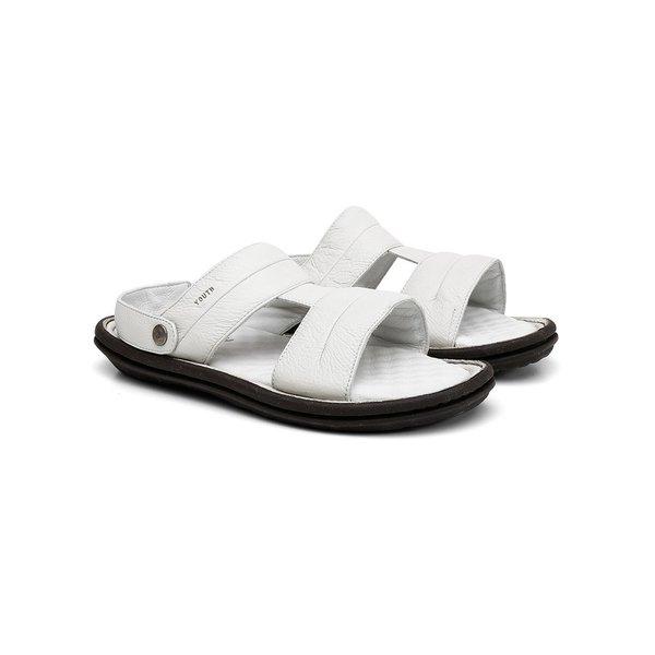 Chinelo Sandália Comfort Napa Fly Off White