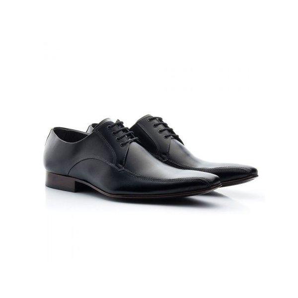 Sapato Social Masculino Couro Preto 300