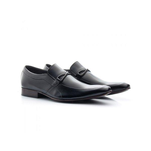 Sapato Social Masculino Couro Preto 353