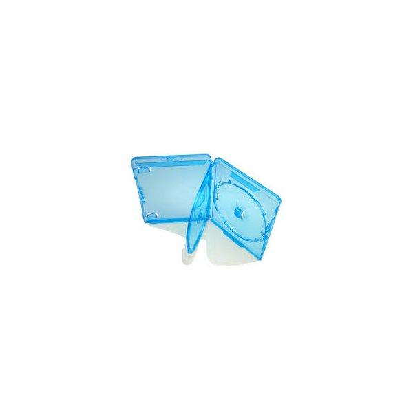 Estojo Videolar p/ Blu Ray Duplo - Azul c/100un.