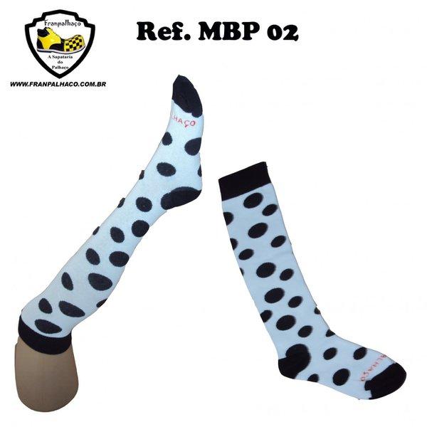 MEIA BOLINHA PRETA Ref MBP 02