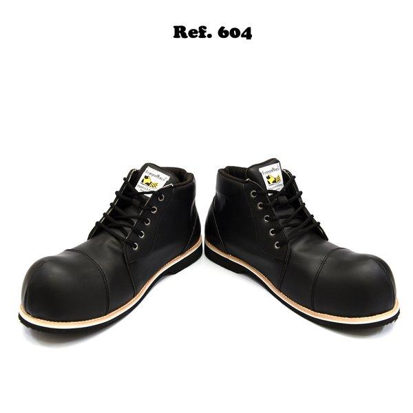 Sapato de Palhaço Preto Chaplin Ref 604