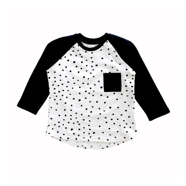 Camiseta Manga Longa Poá
