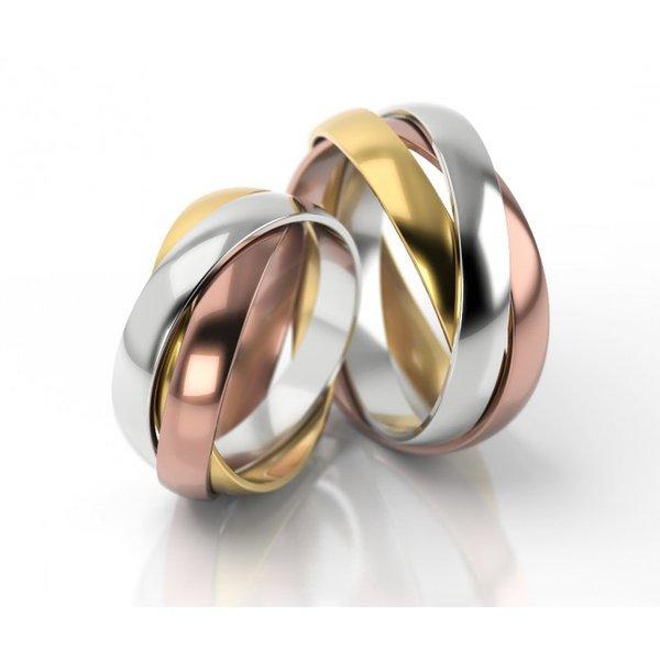Alianças Cartier em Ouro 18k
