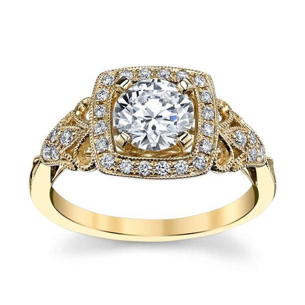 Solitário com Diamantes de 50 Pontos
