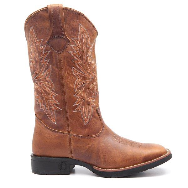 Bota Hipicos Texas Mostarda