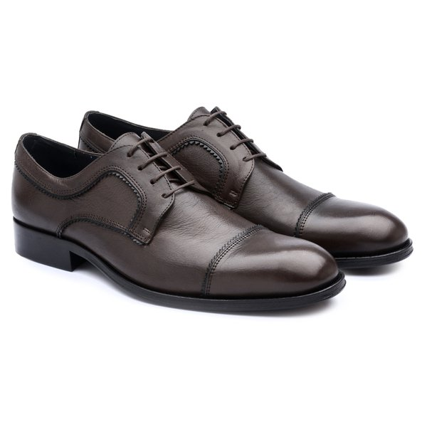 Derby Cap Toe Café 334005