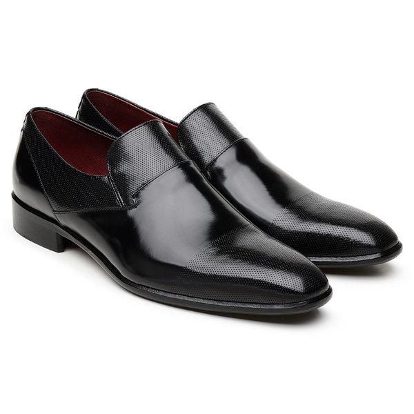 Sapato Social Scatamacchia Preto LI06