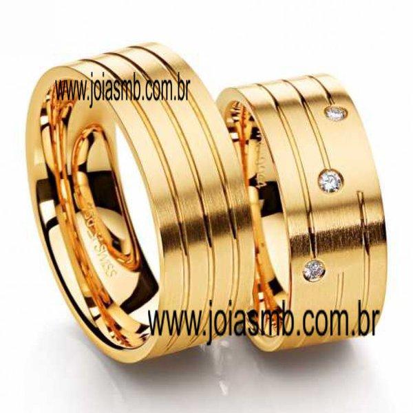 Alianças de Ouro Anatômica Cuiabá