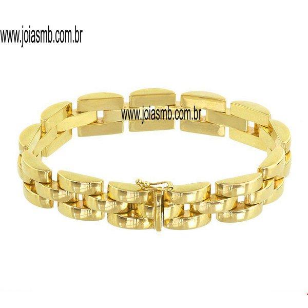 Bracelete de Ouro São Luis