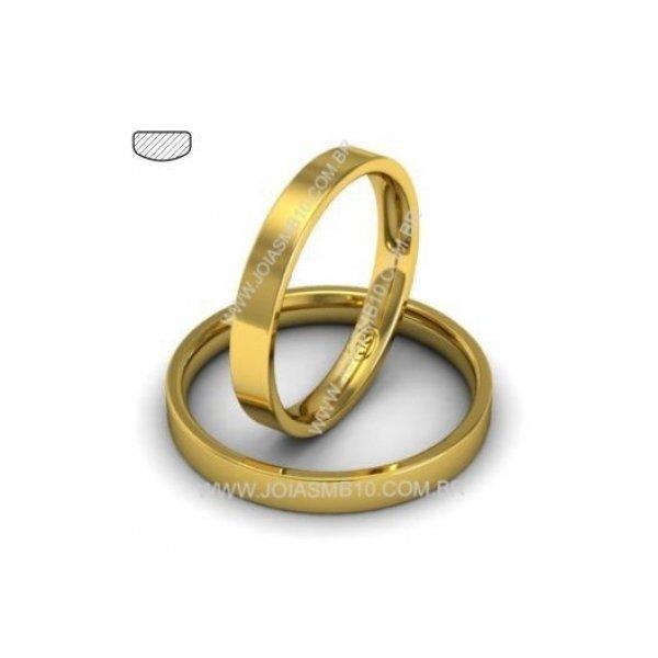 Alianças de Ouro DF Taguatinga 3mm