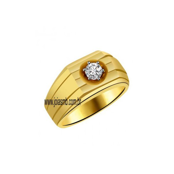 Anel de Ouro Masculino Porto Velho