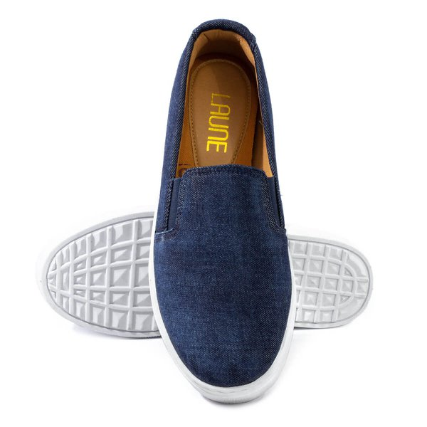 Tênis Slip-On Laune Jeans