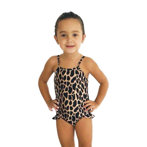 Leopard Print - Maiô Infantil