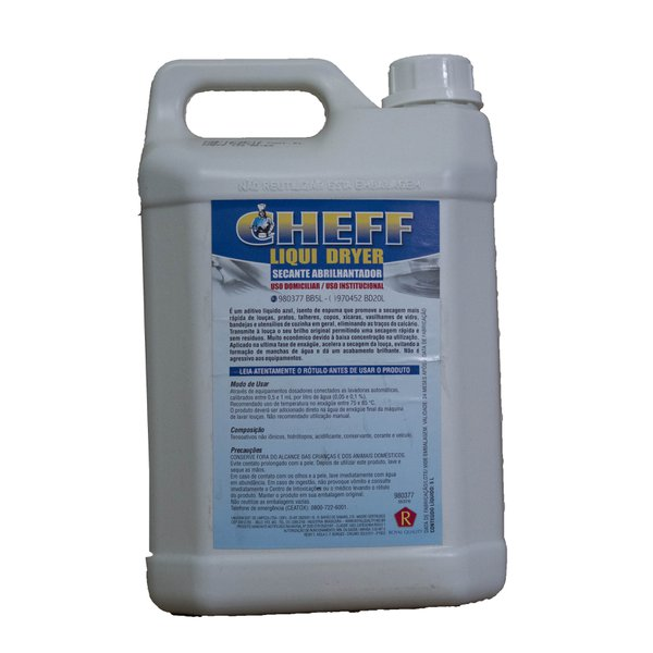 Cheff Liqui dryer secante abrilhantador Royal Quality