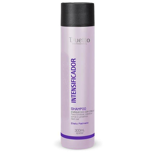 Shampoo Intensificador - Cabelos Loiros E Grisalhos Duetto 300 ml