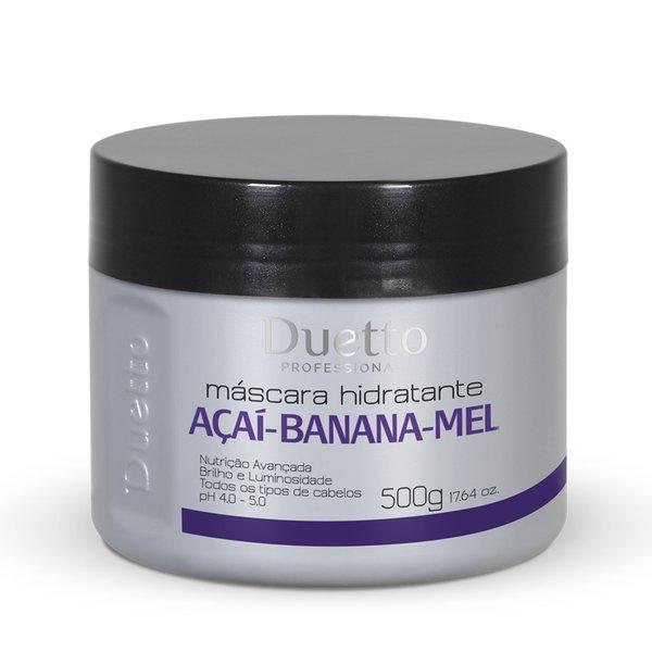 Máscara Açaí, Banana e Mel Duetto 500g