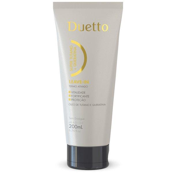 Leave-in Super Tutano + Queratina Duetto 200ml