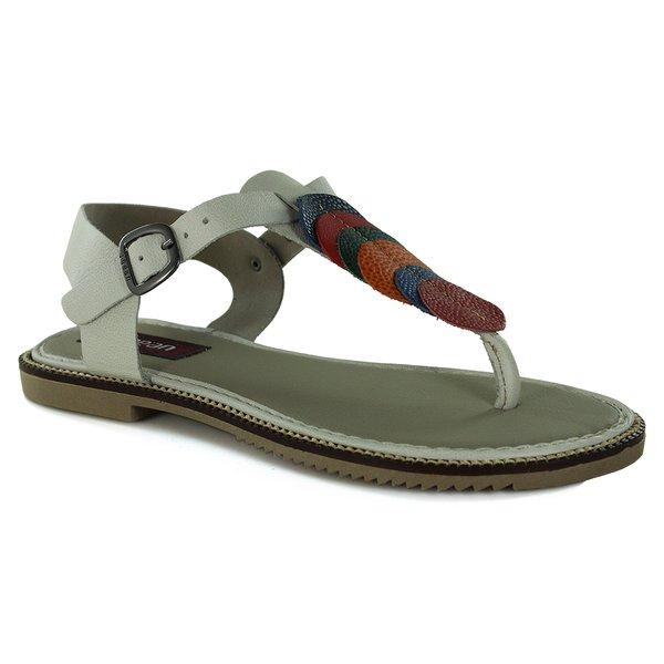 Sandália Em Couro Ice J.Gean BI0063