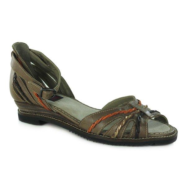Sandália em Couro Susan Anabela Osso J.Gean BN0004-01