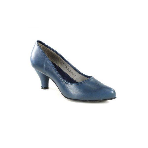 Sapato em Couro Scarpin Sophia Marino J.Gean