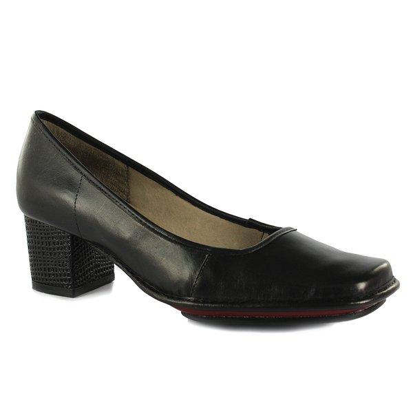 Sapato em Couro Galeany Preto J.Gean