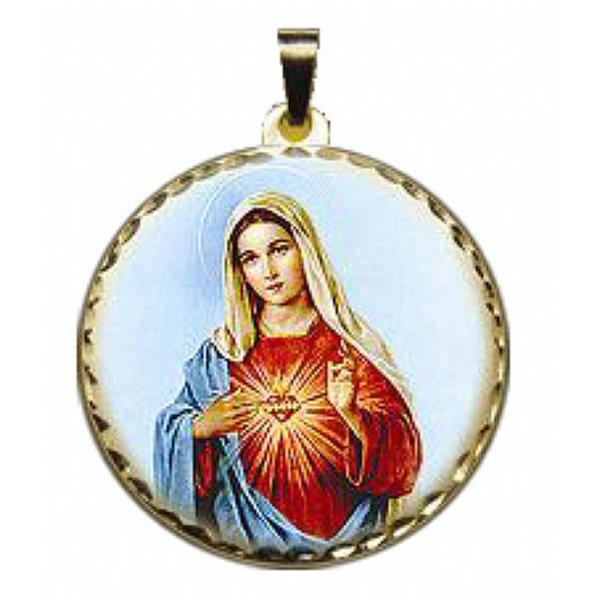 Pingente Sagrado Coração de Maria