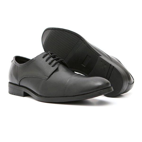 Sapato Casual Masculino Quebec Versalhes Preto