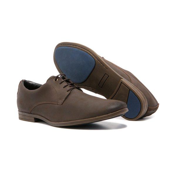 Sapato Masculino Quebec Bari Brown