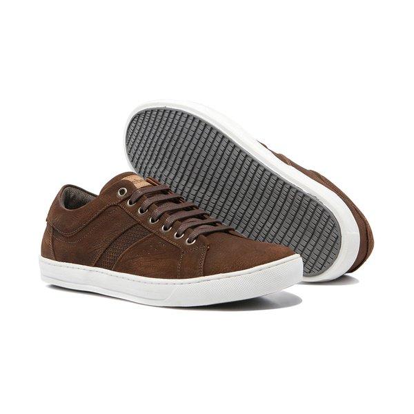 Sapato Masculino Quebec Bray Nobuck Castor