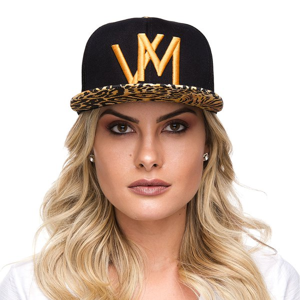 BONÉ SNAP BACK ABA ONÇA VM - VILLA MIX