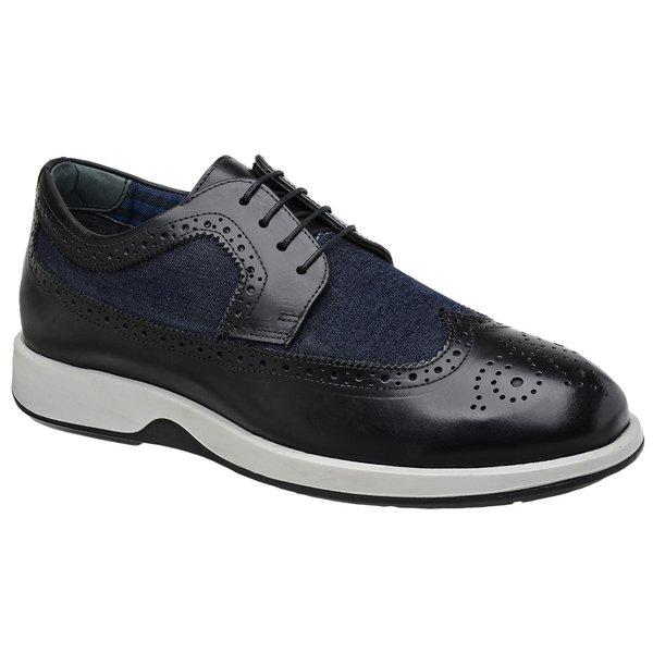Sapato Casual Oxford Jota Pe Preto/Marinho Air Kingston