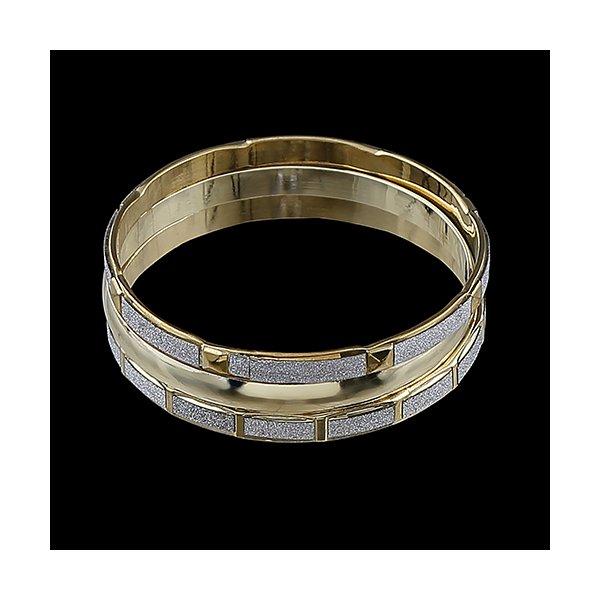 Pulseira Bracelete Com Detalhes Craquelados Prata